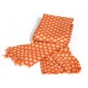 Schal Polkadot Orange