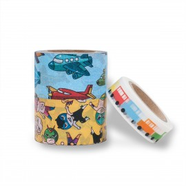 masking tape scrapbooking Reispapier Set Boys