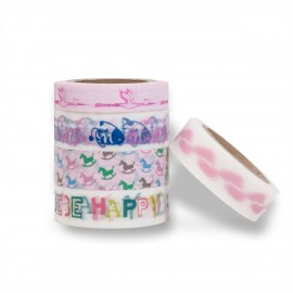 masking tape set scrapbooking Reispapier girls pink