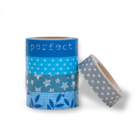 masking tape set scrapbooking Reispapier Wonderful star