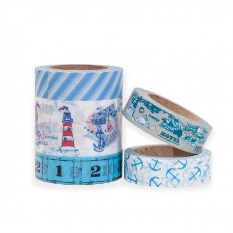 masking tape set scrapbooking Reispapier AHOI