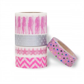 masking tape set scrapbooking Reispapier Disco Queen
