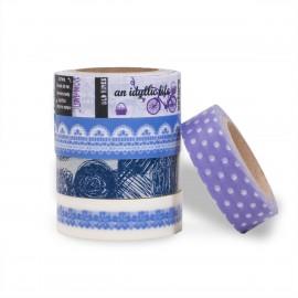 masking tape set scrapbooking Reispapier idyllic live