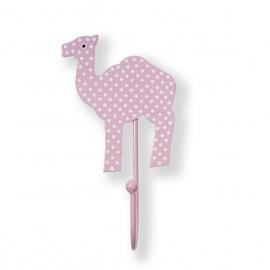 Kinderhaken Kamel Punkte rosa