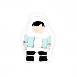 Kinderzimmerknauf mit Aufdruck Eskimo