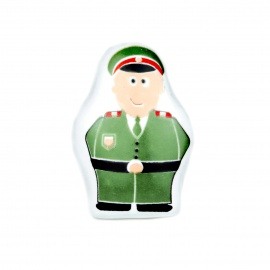 Knauf Figur Polizist