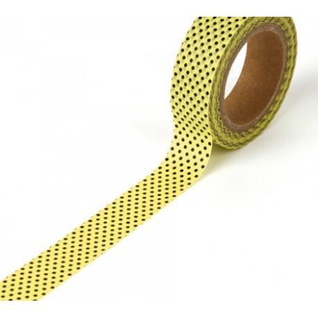 Tape Punkte gelb