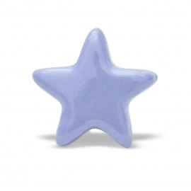 Knauf | Stern | einfarbig | flieder