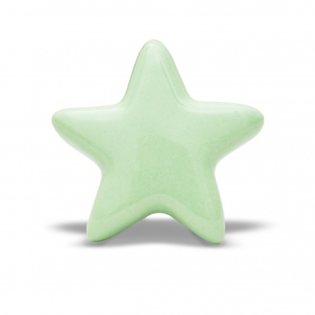 Knauf | Stern | einfarbig | mint