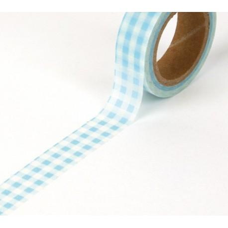 Tape Karo hellblau