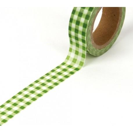 Tape Karo grün