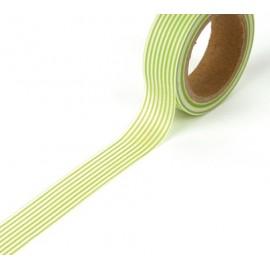 Tape Streifen hellgrün