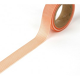 Tape Streifen orange
