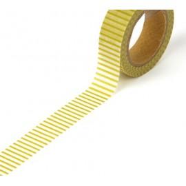 Tape Streifen gelb