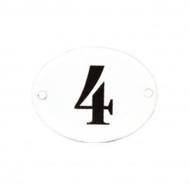 Emailleschild Nr 4