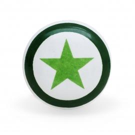 Knauf Print Stern grün