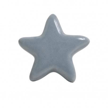 Knauf Stern einfarbig grau