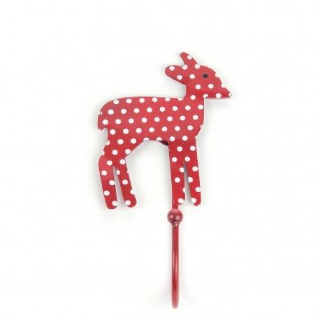 Haken Bambi Punkte rot