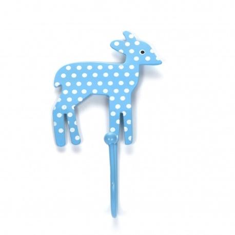 Haken Bambi Punkte hellbalu