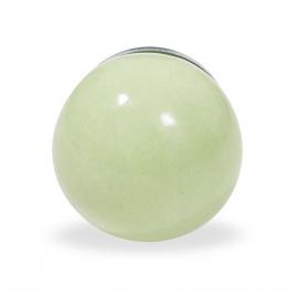 Knauf Ball einfarbig hellgrün