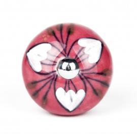 Knauf Botanik Herzblume cherry