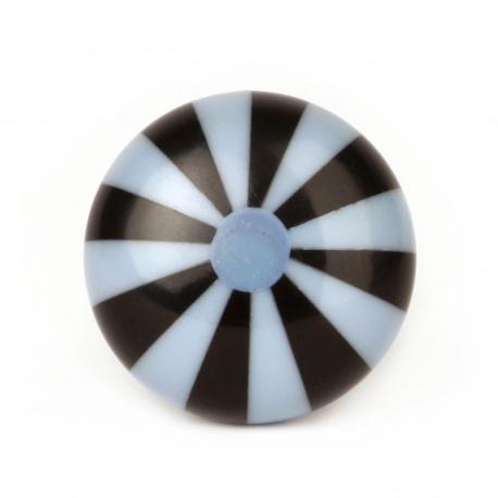 Knauf Bonbon schwarz/blau