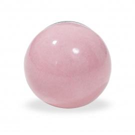 Knauf Ball einfarbig rosa
