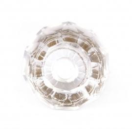 Knauf diamantförmig transparent geschliffen