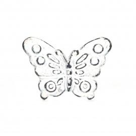 Knauf Eisen Schmetterling weiß