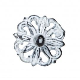 Knauf Eisen Vintage Ornament Hellgrau