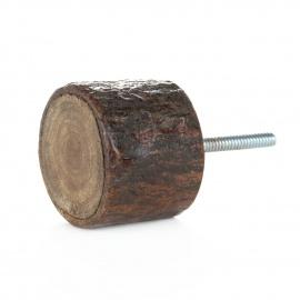 Möbelknauf aus Holzästen