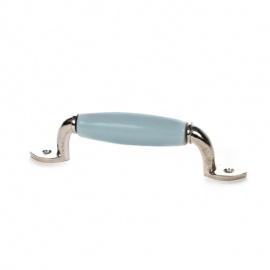 Möbelgriff einfarbig graublau