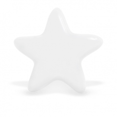 Knauf Stern einfarbig weiß
