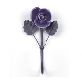 Haken Rose lila